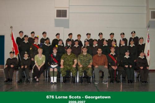 Corps 2006-2007