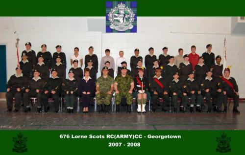 Corps 2007-2008