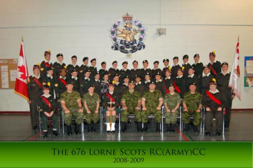 Corps 2008-2009