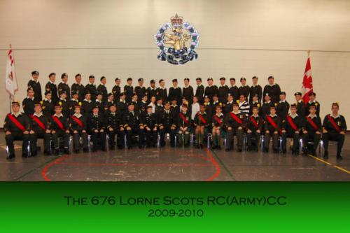 Corps 2009-2010